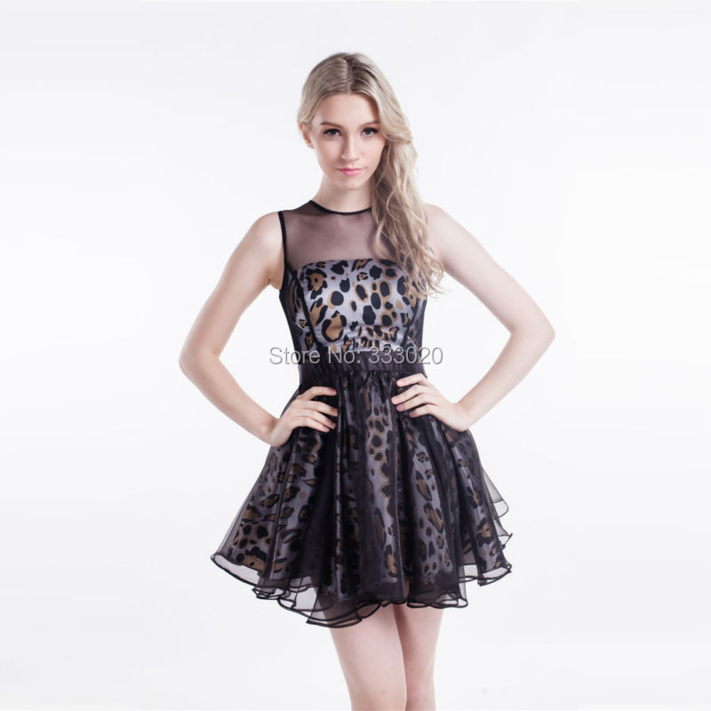 Compare Prices on Short Leopard Print Prom Dress- Online Shopping ...