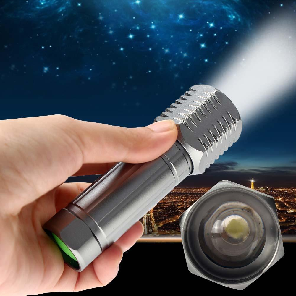 Mini CREE Q5 LED Flashlight Torch 1200LM Adjustable Focus