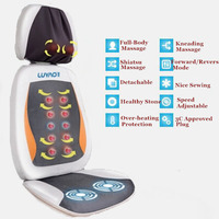 Office/Home Chair Seat Massage Cushion Vibration Infrared Heating Chair Mat For Sale