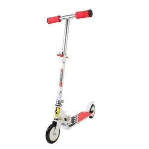 Image 2 - PVC عجلات قابل للتعديل ركلة سكوتر المحمولة للطي في الهواء الطلق 3 10years القديم الأطفال متعة اللعب القدم ركلة الدراجات البخارية