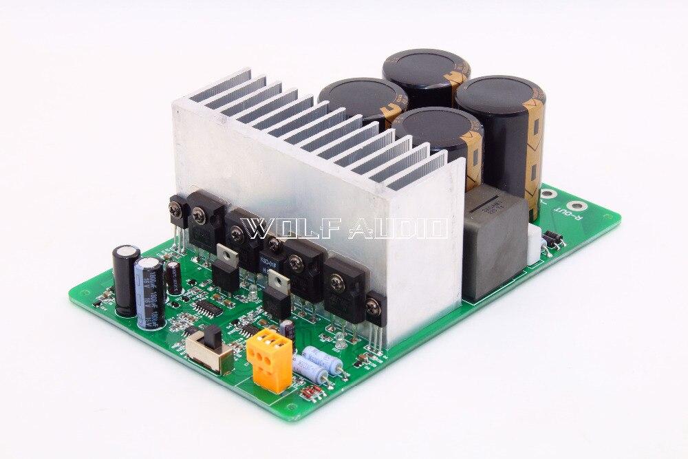 Assembly IRAUD2000 Class D Power Amplifier Board High Power 2000W IRS2092S IRFP4227 Digital Amplifier Board pqd6 q48 s15 d power supplies board mount mr li