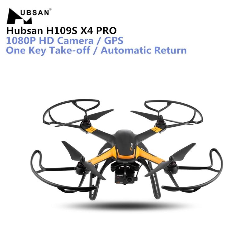Hubsan H109S X4 PRO Drone 5,8g FPV RC 1080 p HD Kamera GPS 7CH RC Quadcopter mit 1- achse Bürstenlosen Gimbal Automatische Rückkehr