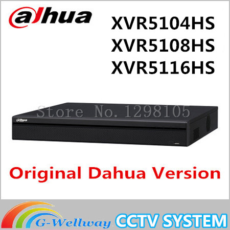 DAHUA XVR5104HS XVR5108HS XVR5116HS Replacement HDCVI Analog IP Video input1080P Tribrid DVR support 1HDD HCVR5104/08/16HS-S3