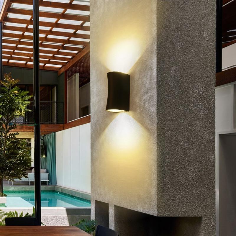 Up//Down Lamp Fixture 10W LED COB Outdoor Wall Mount Light Garden Lighting Patio