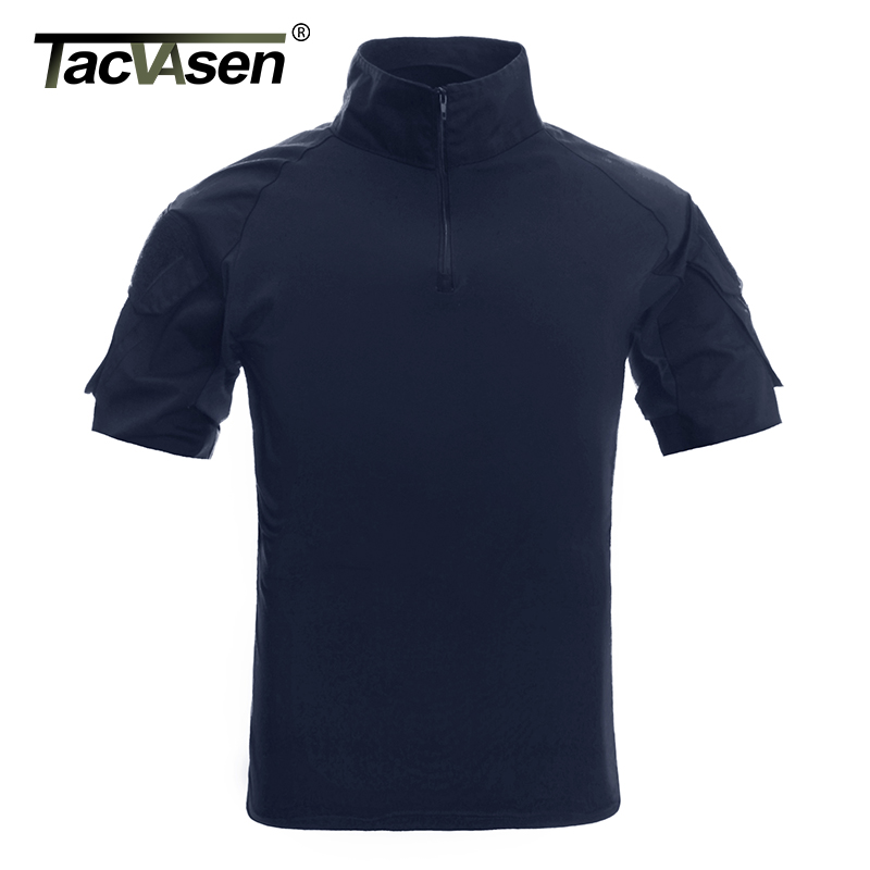 TACVASEN Men Camouflage Tactical T Shirts Summer Short Sleeve Airsoft Army Combat T shirts Hunt Shoot Top Tees Military Clothingcamouflage t shirttactical t shirtbrand t shirt men -