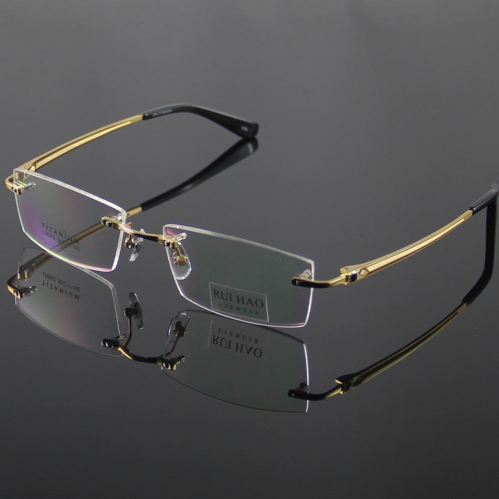 Rimless Glasses Fashion : Aliexpress.com : Buy Unisex Eyeglasses Frame Fashion ...