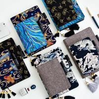 2018 Japanese Old Painting Daily Planner Organizer Agenda Schedule Notebook Dairy Bullet Journal Book Cover For