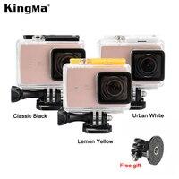 Original KingMa Xiaomi Yi 4K 2 Waterproof Case XiaoYi II Sports Camera 60M Diving Waterproof Box