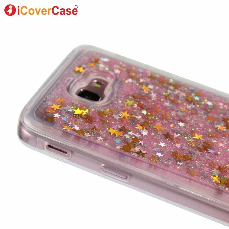 366dfb7d9d ... Glitter Case For Samsung Galaxy J7 Prime Liquid Shining Phone Cases For  Samsung J7Prime Soft TPU ...