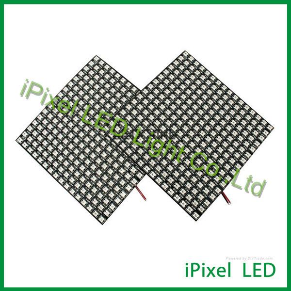 16X16 RGB flexível LED matrix luz, rgb conduziu a luz do painel, conduziu a exposição da tela