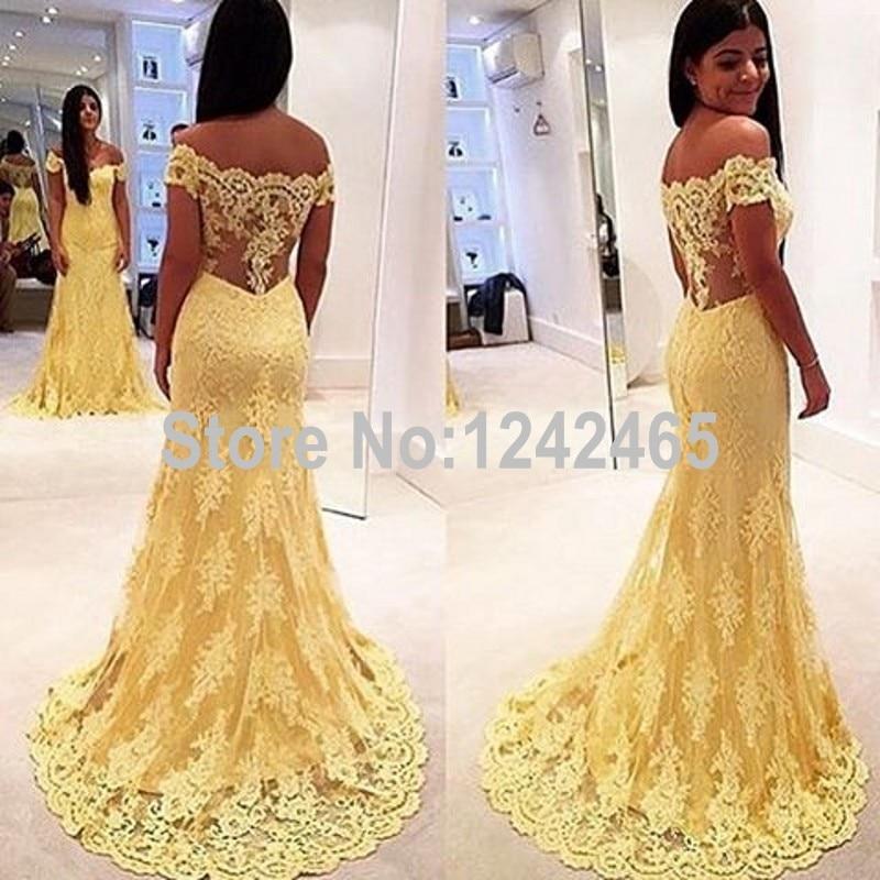 415ece7bac8d Mermaid Off Shoulder Long Formal Dresses Long Evening Gowns Lace Appliqued  Evening Dresses Online Shopping QM100-in Evening Dresses from Weddings    Events ...