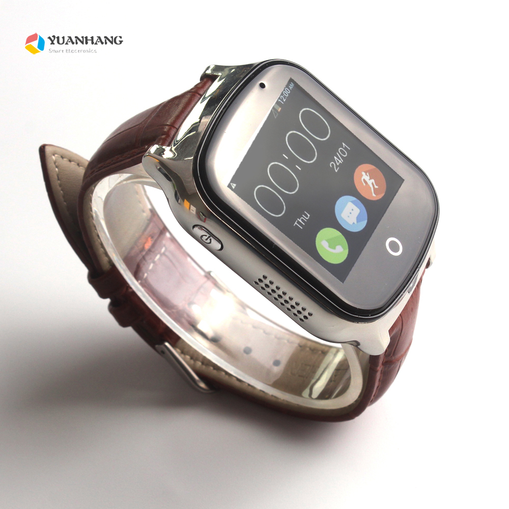 Smart Remote Camera GPS LBS WIFI Location 1.54 Touch Screen Kid Elder Child 3G SOS Call Monitor Tracker Alarm Watch Wristwatch