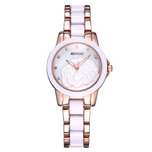 Brand WEIQIN Watch Women Luxury Fashion Quartz Ceramic Watches Lady relojes mujer Women Wristwatches Girl Dress