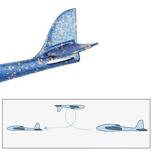 Image 4 - DIY 子供の手の飛行玩具大型グライダー航空機投げる発泡プラスチック飛行機モデルおもちゃ頑丈な子供のゲーム少年のギフト 2019