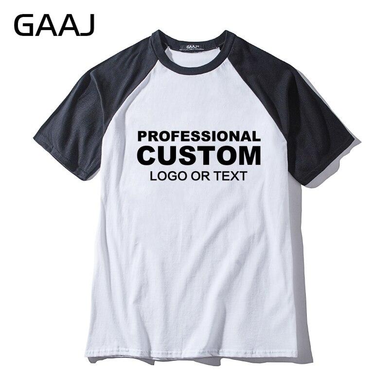 Find A Professional T Shirt Designer To: GAAJ Custom T Shirt Raglan Short & Long Sleeve Print