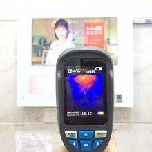 HT-02 ручной тепловизионная камера Инфракрасный термометр ИК тепловизор термометр инфракрасный Termometro Infravermelho