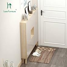 Модные шкафы для обуви в стиле Луи, ультра тонкие скандинавские двери