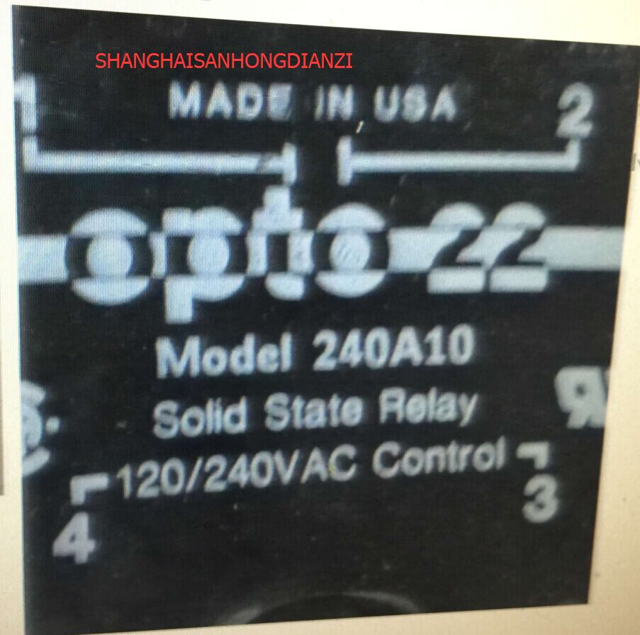 Original Imported Opto 22 240a10 240a25240a40240a45240a50 Solid State Relay Quality Assuranceorders Please Indicate The Model In Fireplace Parts From Home Improvement