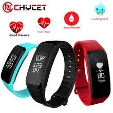 R1 Smart Band heartrate Приборы для измерения артериального давления кислорода оксиметр Водонепроницаемый спортивный браслет часы inteligentefor IOS Android Для мужчин