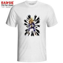 Super Saiyan Vegeta Blast T Shirt Dragon Ball Z Ink Paint Design Cool Funny Anime T-shirt Casual Pop Active Women Men Top Tee dragon i 10537 skeleton blast