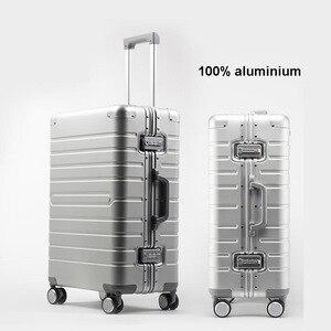 """Image 1 - TRAVEL TALE ราคาถูกอลูมิเนียมกระเป๋าเดินทาง 24 """"spinner 20"""" ธุรกิจกระเป๋าเดินทางรถเข็นบนล้อ"""
