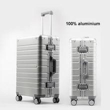 Conto de viagem de alumínio barato mala viagem 24