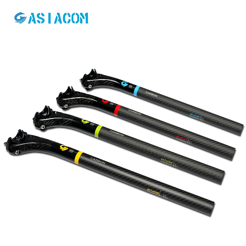 ASIACOM 3K Full Carbon Bicycle Seatpost 27.2 30.8 31.6 Mountain Bike Seat Post MTB Seatpost Bicycle Parts Red Blue Green YellowASIACOM 3K Full Carbon Bicycle Seatpost 27.2 30.8 31.6 Mountain Bike Seat Post MTB Seatpost Bicycle Parts Red Blue Green Yellow