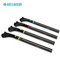 Asiacom 3 كيلو كامل الكربون دراجة seatpost 27.2 30.8 31.6 جبل دراجة مقعد آخر mtb seatpost أجزاء دراجات الأحمر الأزرق الأخضر الأصفر