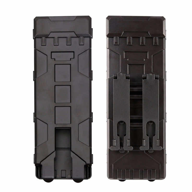 Ammo Bag 10 Rounds 12GA 12 Gauge Ammo Shells Hunting Gun Case Accessories  Airsoft MOLLE Box  Fast Loading Clip Holder Box