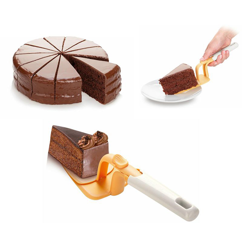 US $2.27 |CTDSGW000371 Pizza Cake Cutter Plastic Can Push Style Pastry  Cheese Cake Shovel Baking Tools Home Kitchen Supplies-in Other Cake Tools  from ...