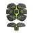 Alta qualidade EMS sistema muscular abdominal fitness musculação exercícios abdominais exercício do esporte 3D estimulador muscular