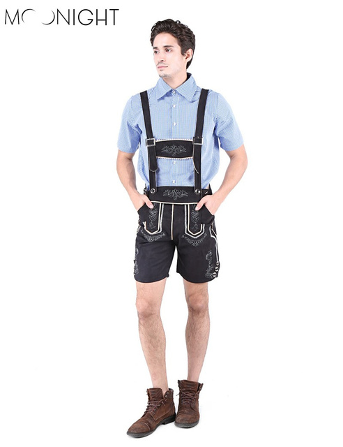MOONIGHT Oktoberfest Costumes Allemand Bière Hommes Costume Cosplay  Bavarois Octoberfest Festival Halloween Party Costumes Outfit