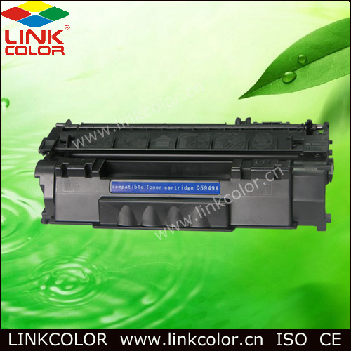 Q5949A <font><b>49a</b></font> 5949A 49 compatible LaserJet Toner Cartridge for <font><b>HP</b></font> LaserJet1160/1160LE/1320/3390/3392 FOR CANON LBP-3300 printer image