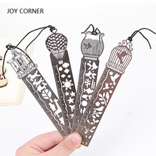 Multifunctional Metal Straight Ruler 10 CM Scale Bookmark Hollow Rulers Stationery Student Gift School Accessory JOY CORNER