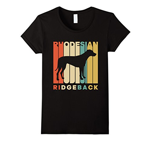 Vintage Style Rhodesian Ridgeback Silhouette T-Shirt Unique Design T Shirt Printed Tops Casual Tees 2017 Newest Women