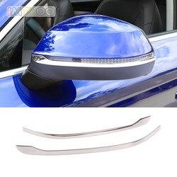 Espejo retrovisor lateral espejo de ala moldura calcomanía del cuerpo para AUDI Q5 Q7 2018 accesorios de 2019 para el diseño del coche