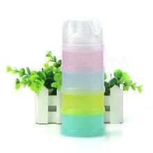 4 слоя детское молоко порошок контейнер портативный формула контейнер для хранения еды диспенсер пищевой бутылки коробка диспенсер