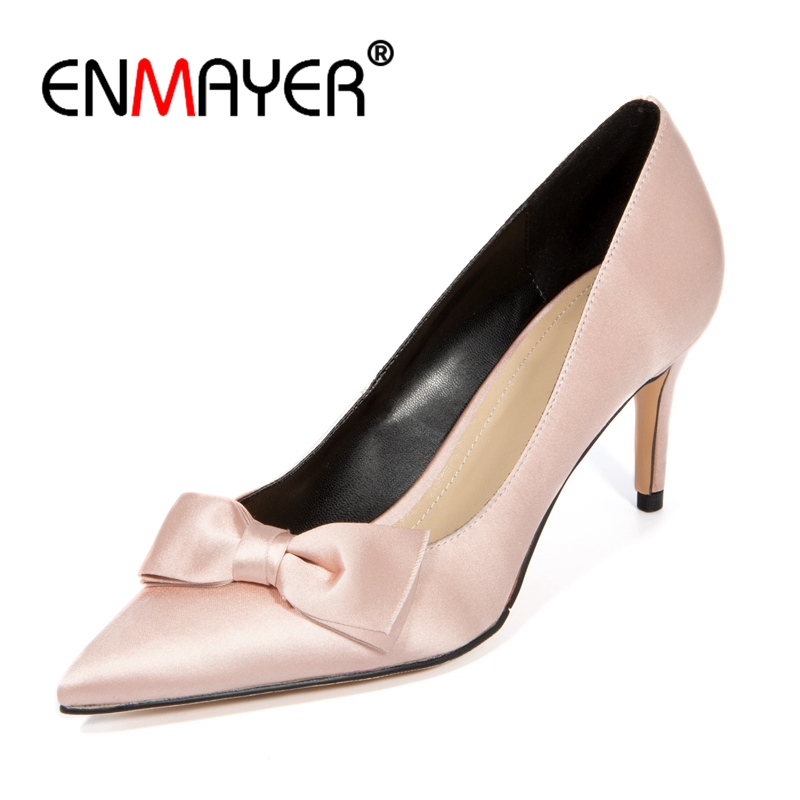 ENMAYER  Pointed Toe  Thin Heels  Casual  Slip-On  Woman Shoes  Zapatos De Mujer  Shoes Woman Size 34-39 ZYL2538ENMAYER  Pointed Toe  Thin Heels  Casual  Slip-On  Woman Shoes  Zapatos De Mujer  Shoes Woman Size 34-39 ZYL2538