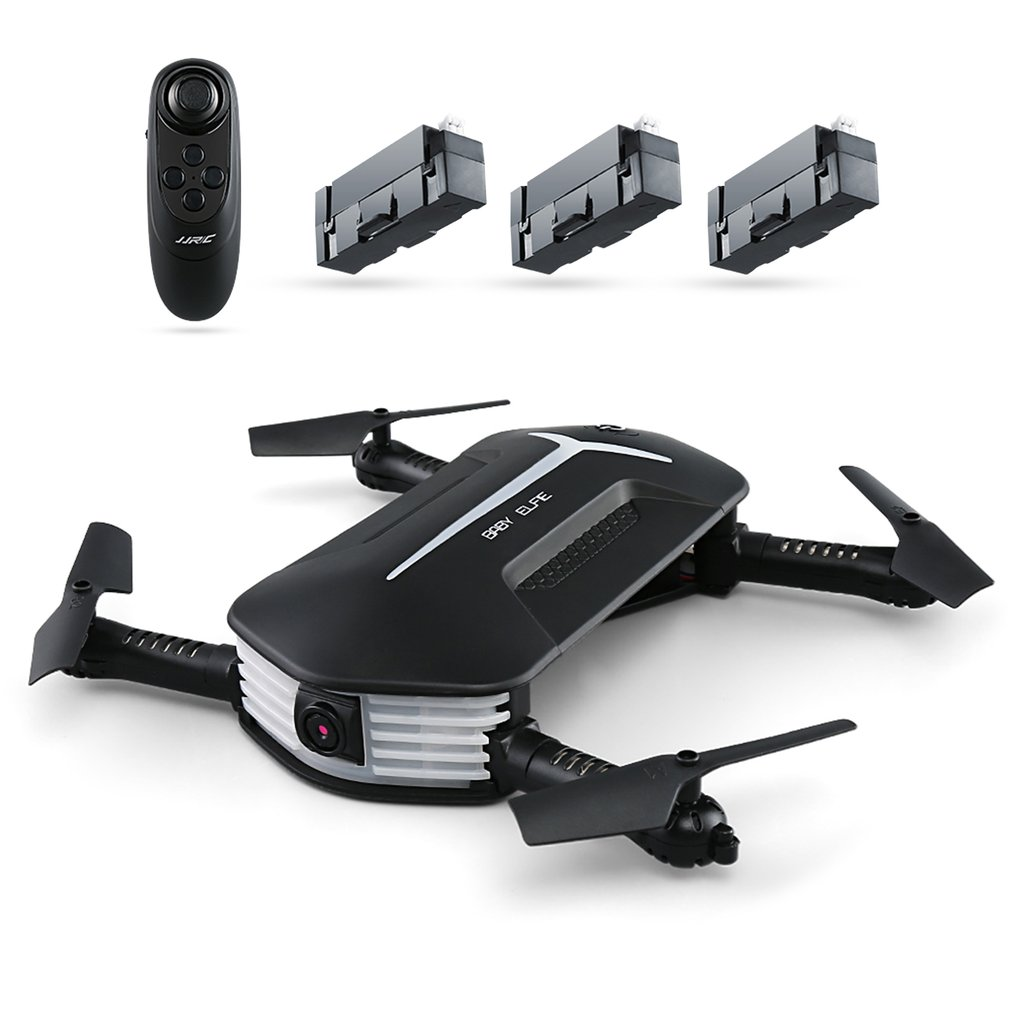 JJR/C H37 Mini RC Drone con 720 P Della Macchina Fotografica 2.4G 4CH 6-Axis Wi-Fi FPV Pieghevole RC Quadcopter Con 3 Batterie il Mantenimento di Quota Drone
