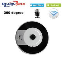 360 Градусов Мини беспроводная ip-камера wi-fi smart panoramin webcam 960 P ночного Видения поддержка P2P двухстороннее аудио IP CCTV камера ПРИЛОЖЕНИЕ V380