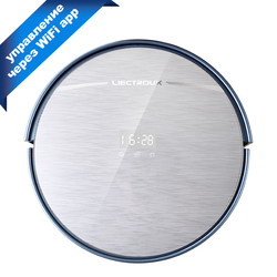 LIECTROUX X5S Robotic Vacuum Cleaner WIFI APP Control,Gyroscope Navigation,Intelligent Mapping Planned Wet and Dry Cleaning
