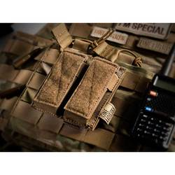 Onetigris 전술 더블 권총 잡지 파우치 권총 mag 파우치 글록, m1911, 92f, 40mm 수류탄 등