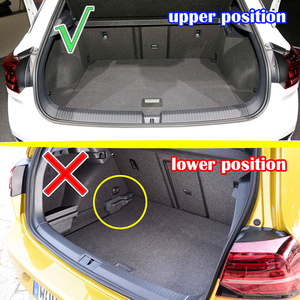 Image 4 - For Volkswagen VW T Roc T ROC TRoc 2017 2018 2019 Boot Liner Cargo Tray Trunk Liner Mat Floor Carpet Luggage Tray Accessories