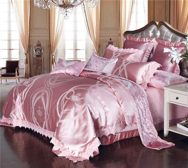 4 6 8 9pcs Luxury Silk Cotton Jacquard Romantic Paris