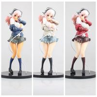 Anime Super Sonico Winter Clothes Ver 1 6 Scale Pre Painted Sexy PVC Action Figures Collectible