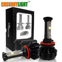 CNSUNNYLIGHT 10000LM Super Bright Car LED Headlight Kit H7 H11 H8 H9 9005 HB3 9006 HB4
