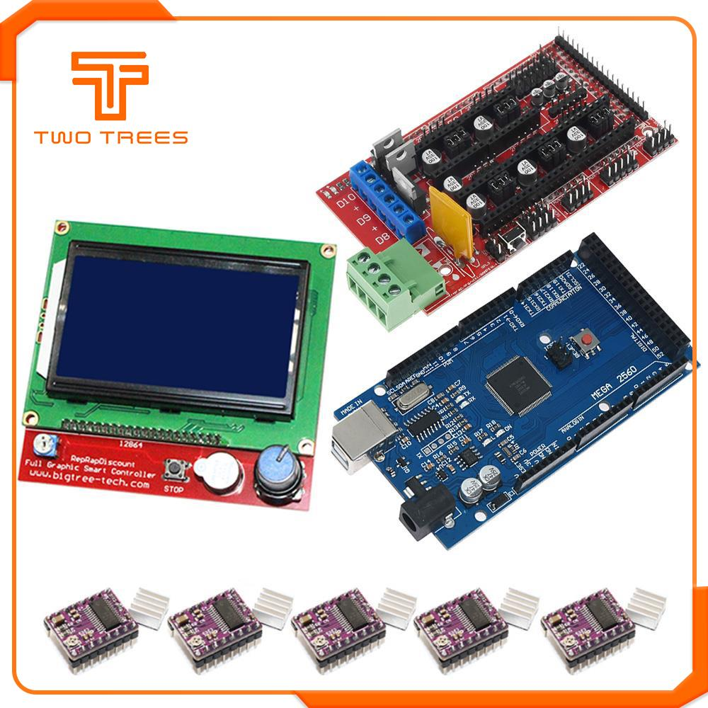 Geeetech RAMPS 1.4 Control Board+4x A4988 Stepstick Driver Module for 3D Printer