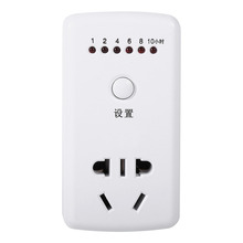 New AU Socket AC 220V 10A 10Hr Time Countdown Programmable Timer Socket Intelligent Time Setting Timer Control Socket все цены