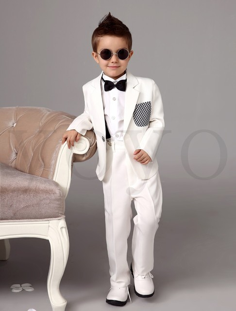 a5005a160 Custom-made NEW Formal Kid Boy Wedding Suit/Boys' Attire Complete Designer  (Jacket+Pants+Tie) Free Shipping Children Suit