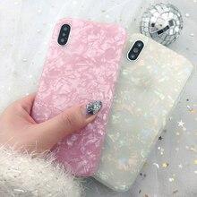 For Vivo V9 V11i F9 F7 Y85 Cases Korean Shiny Marble Girly S